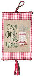 Cozy Christmas Wishes, a new free chart from Lizzie Kate