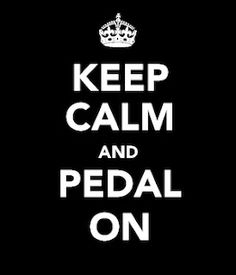 Pedal On. Love me some spin class!