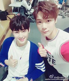 Eunwoo and Moonbin