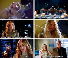 Sara Lance as White Canary in DC's Legends of Tomorrow First Look