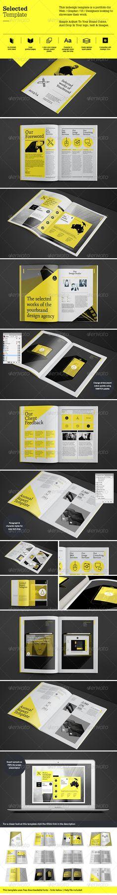 Selected Template - Portfolio Brochures