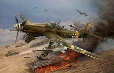 Ju-87 Stuka de Hans Rudell