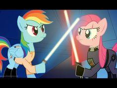 Pinkie is darth vader!