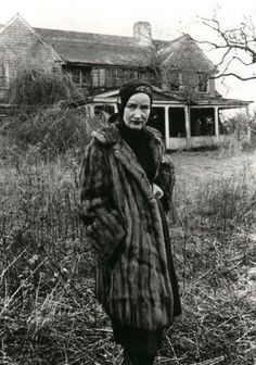 Grey Gardens: I was having a Grey Gardens day yesterday with lots of scarves and my dressing gown and then this popped up. Whee.