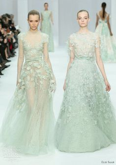 Beautiful mint wedding dresses #wedding #dresses #inspiration #details