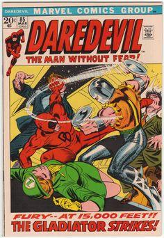Daredevil #85 NM-, Black Widow guests, Gene Colan artwork, Gil Kane cover art. $40
