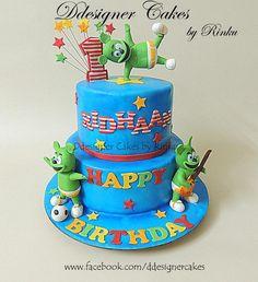Gummy Bear Song ... 1st B'day Cake