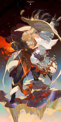 Falia the Queen of the Mountains, The Battle of Redval【red】, pixiv Fantasia: Last Saga / 命に繋がる魂の絆 - pixiv Kunst Inspo, Art Inspo, Art And Illustration, Fantasy Kunst, Fantasy Art, Anime Art Girl, Manga Art, Ange Demon, Anime Kunst