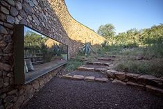 witklipfontein eco lodge by GLH architects emerges from the earth in south africa