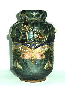Art Nouveau Amphora vase by Paul Dachsel