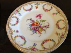 Dresden Porcelain Plates Set of 4   eBay