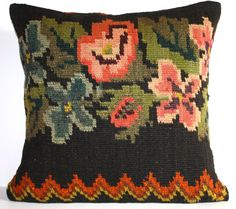 Grand Sale / Soft Hand Woven  Turkish Kilim Pillow by kilimdreams