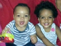RIP 1 year old Norell & 2 year old Zyana Harris:  They were stabbed to death by their mother.