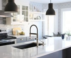 A homeowner updates her kitchen for 2 years—look at her amazing kitchen now!