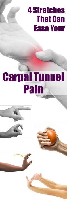 4 Stretches That Can Ease Your Carpal Tunnel Pain