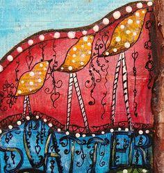 My Art Journal: Scatter Love
