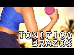 Combate la flacidez de tus brazos - Ejercicios de biceps y triceps - YouTube