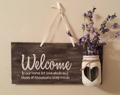 Rustic Wood Sign, by Kristina Oakley