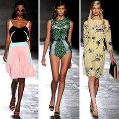 I think Prada 2012 took it for me. It's like bad ass and girly collided
