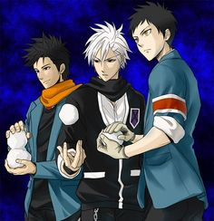 Tags: Anime, Pixiv Id 1284918, SKET Dance, Katou Kiri, Tsubaki Sasuke, Agata Soujirou