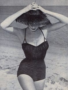 Summer style, 1950s http://www.nomad-chic.com/swim.html