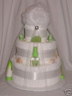 Bridal Shower Towel Cake | decided to start anew... to accept as true my own thinking. This ...
