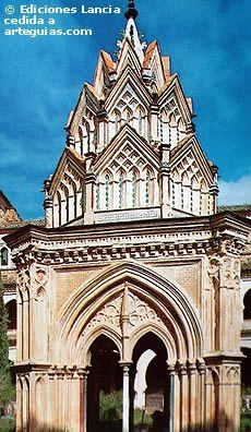 Templete gótico mudéjar del Monasterio de Guadalupe