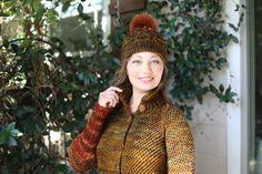 Hand Knitting, Winter Hats, High Neck Dress, Coat, Projects, Dresses, Fashion, Turtleneck Dress, Log Projects