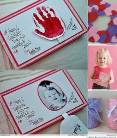 Valentines Crafts for Kids- good gift to make for parents from kids! Valentine's Day Crafts For Kids, Valentine Crafts For Kids, Daycare Crafts, Mothers Day Crafts, Baby Crafts, Toddler Crafts, Preschool Crafts, Holiday Crafts, Holiday Fun