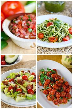 Fresh tomato recipes that are paleo, gluten-free, grain-free. So whether cherry, grape, heirloom or beefsteak, try these fresh ideas for summer tomatoes.