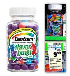 Centrum Flavor Burst Vitamins, Only $0.99 at CVS!