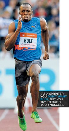 Bodybuilding.com - Lean Machines: The Six Best Bodies In The Olympics - Legs: Usain Bolt