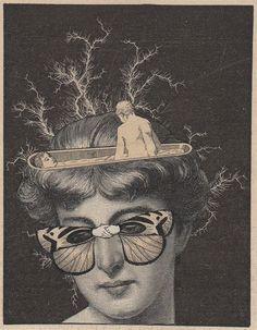 Collage by Martin Copertari #collage #retro #vintage #kitsch #gravure #etching #lithographie