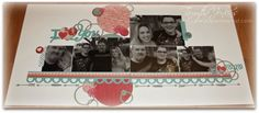 Layout using Close To My Heart's Stamp of the Month, This Moment.  Also, uses CTMH Heartstrings paper, assortment, complements and Cricut Artiste. Cutting guide/file will be available January 2015 at paperheartist dot com