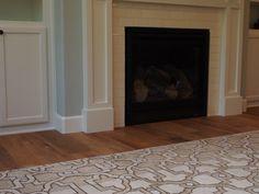 Lapchi's Medici carpet I Customized in color and size I installed in Portland, OR I Nov. 2014