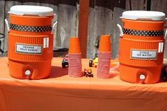 construction party drink station