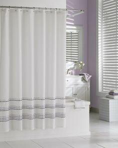 Kassatex STR 115 TRB LV Tribeka Shower Curtain Lavender