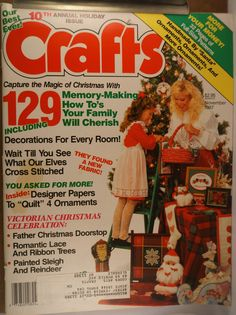 https://flic.kr/p/vYqash | Crafts Nov 1987 | $6.00 each plus Shipping.
