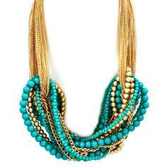 orientalist statement necklace.