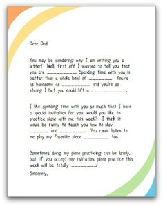 Cute way to try to involve parents in at home piano practice time from TeachPianoToday