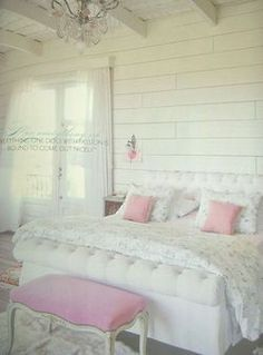 Shabby Chic Pink Paint Styles and Decors to Apply in Your Home – Shabby Chic Home Interiors Decor, Shabby Chic Pink, Pink Bedroom, Home Decor, Dreamy Bedrooms, Chic Bedroom, Shabby Cottage, Pastel Bedroom, Shabby Chic Bedrooms