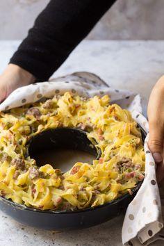 Easy Weeknight Dinners, Easy Meals, Tasty, Yummy Food, Ravioli, Gnocchi, Summer Recipes, Italian Recipes, Macaroni And Cheese