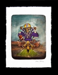 The best eCommerce platform for driving sales Lsu, Purple Gold, Louisiana, Football, Baseball Cards, Tigers, Painting, Sports, Soccer