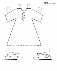 Veľká bábika oblečenie 1