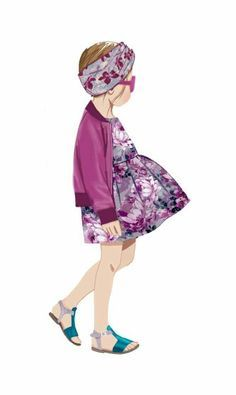 TODDLER fashion illustration - Google Search