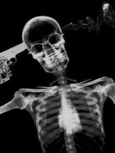 skeletons, x ray, guns Pose Reference Photo, Neon Words, Surrealism Painting, Grim Reaper, Skull And Bones, Life Is Like, Skull Art, Dark Art, Dark Side