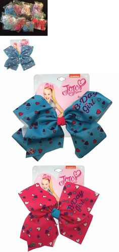 f04183620d0 Hair Accessories 57920  Jojo Siwa Large Signature Hair Bow Buy 4 Get 2 Free  Birthday Cupcake Flamingo -  BUY IT NOW ONLY   89.96 on eBay!