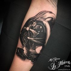 Darth Vader / Star wars tattoo by Sami Haataja @ La Muerte Ink
