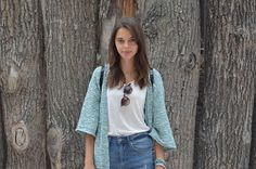 New outfit post on blog! Translate it and check it now!  #outfit #OOTD #fashion #blog #blogger #blue #cardigan #model #me #czechgirl #blogger #young #summer