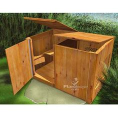 spiffy two compartment treated wood compost bin Build Compost Bin, Garden Compost, Composting Bins, Gardening, Gazebo On Deck, Gazebo Plans, Building A Garage, Building Plans, Outdoor Projects